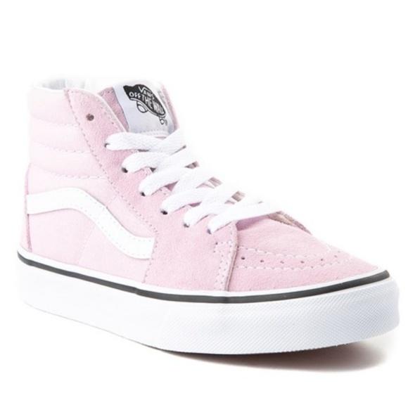 Vans Shoes   Vans Off The Wall Pink Hi